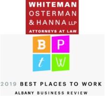 Whiteman, Osterman and Hanna logo
