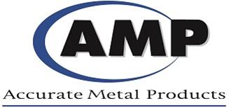 ACCURATE METAL PRODUCTS logo