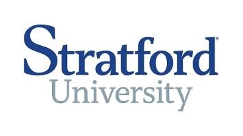 Stratford University. logo