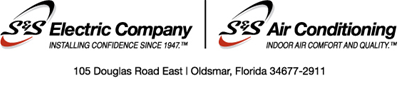 S & S Electric logo