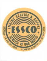 ENGINE SERVICE & SUPPLY CO. logo