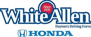 White Allen Honda logo