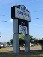RUSSELL AUTOMOTIVE logo