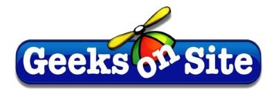 Geeks On Site logo