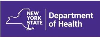 NYS Dept. of Health logo