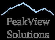 PeakView Solutions logo
