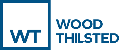 Company Logo Wood Thilsted