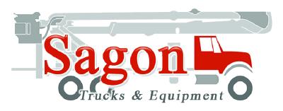 Sagon Trucks and Equipment logo