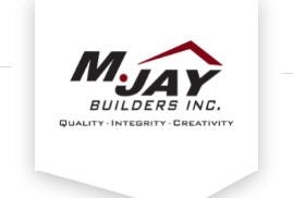 M. Jay Builders Inc. logo