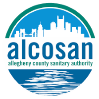 Allegheny County Sanitary Authority (aka: ALCOSAN) logo