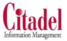 Company Logo Citadel Information Management