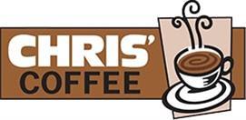 Company Logo Chris's Coffee Service