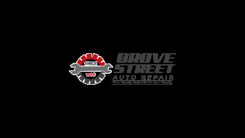 grove st auto repair logo