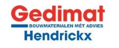 Company Logo Gedimat-Hendrickx