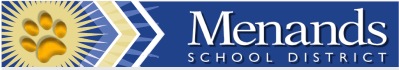 Menands Union Free School logo