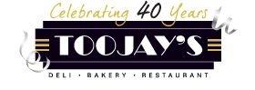 TooJay's Gourmet Deli logo