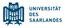 Company Logo Universität des Saarlandes