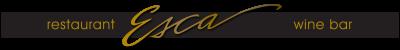 Esca Restaurant & Wine Bar logo