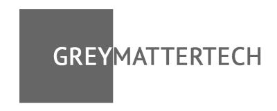 Company Logo GREYMATTER TECH