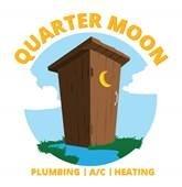 Company Logo Quarter Moon Plumbing