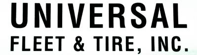 UNIVERSAL FLEET AND TIRE logo
