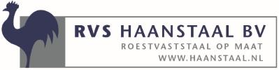 Company Logo RVS Haanstaal b.v.