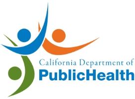Company Logo CA Department of Public Health