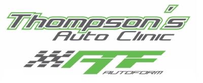 Thompsons Auto Clinic / AutoForm logo