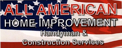 ALL AMERICAN HOME IMPROVEMENT logo