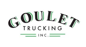Goulet Trucking logo