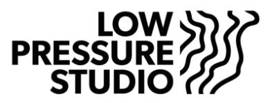 Company Logo Low Pressure Studio BV