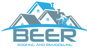 Company Logo Beer Roofing And Remodeling