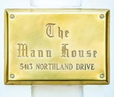 The Mann House logo