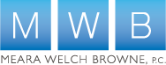 Company Logo Meara Welch Browne, P.C.