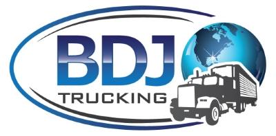 BDJ TRUCKING CO logo
