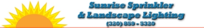 Sunrise Sprinkler & Landscape Lighting logo