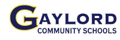 Gaylord Community Schools logo