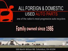 All Foreign and Domestic Used Auto Parts logo