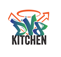 DV8 KITCHEN AND BAKERY logo
