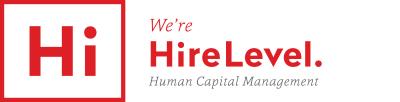 HireLevel. logo