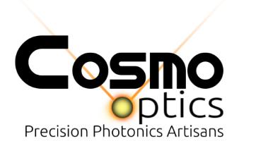Cosmo Optics logo