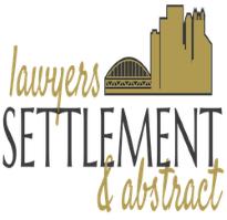 Lawyers Settlement and Abstract logo