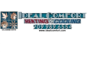 IDEAL COMFORT Heating & Cooling Corporation logo