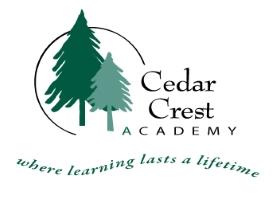 Company Logo Cedar Crest Academy