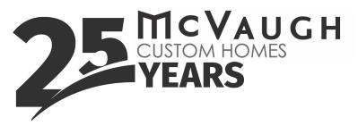 McVaugh Custom Homes Inc. logo