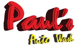 Company Logo Paul's Auto Wash