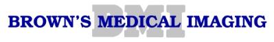 Company Logo Browns Medical Imaging