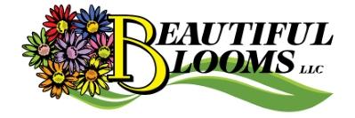BEAUTIFUL BLOOMS LANDSCAPE COMPANY logo