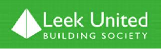 Company Logo Leek United Building Society