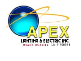 Company Logo Apex Lighting and Electric Inc